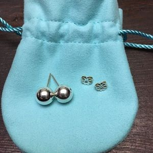 Tiffany & Co. Jewelry - Tiffany and Co. Silver Ball earrings